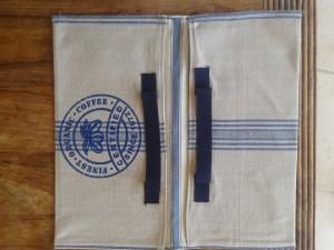 emport-plat-tissu-imprime-bleu